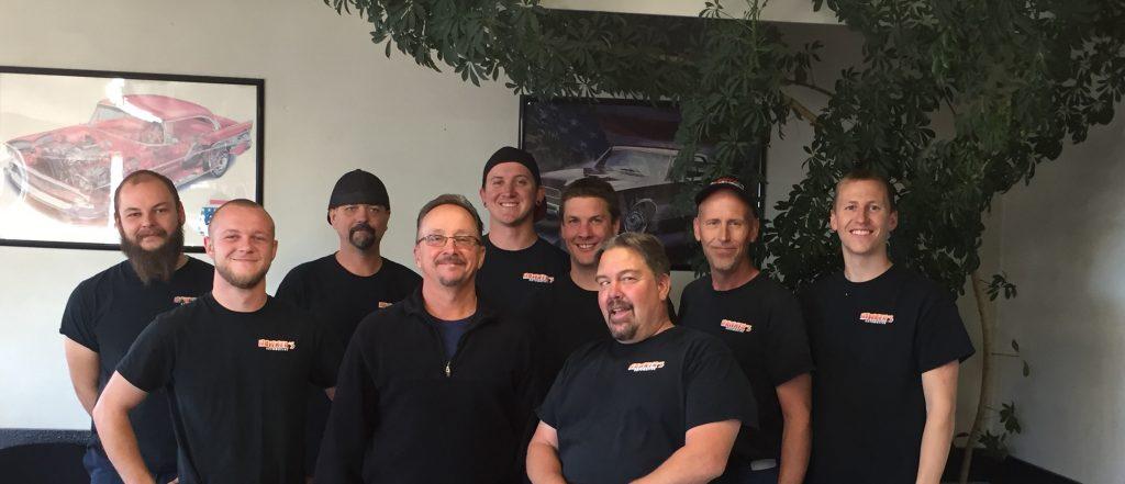 Fort Collins Auto Repair Hawker Automotive Crew